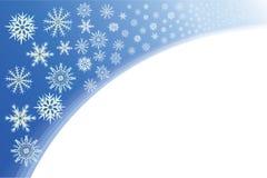 Copos de nieve. Foto de archivo