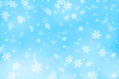 Copos de nieve Fotografía de archivo