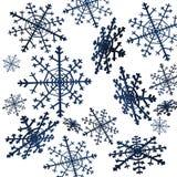 Copos de nieve libre illustration