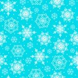 Copos de nieve blancos Imagenes de archivo
