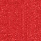 Copos de nieve blancos en textura inconsútil del fondo rojo Fotografía de archivo