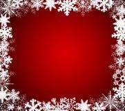 Copos de nieve de la Navidad   Foto de archivo libre de regalías