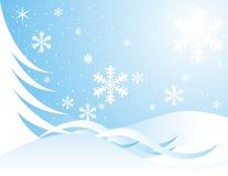 Copos de nieve de Navidad Fotos de archivo libres de regalías