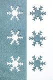 Copos de nieve de papel Foto de archivo