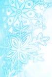 Copos de nieve del invierno Fotografía de archivo