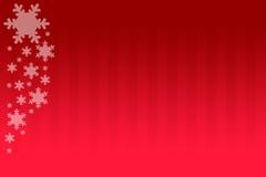 Copos de nieve del wirh del fondo de la Navidad Fotografía de archivo libre de regalías
