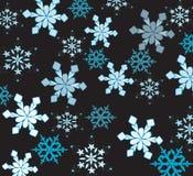 Copos de nieve hermosos Imagenes de archivo