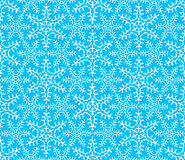 Copos de nieve inconsútiles 4 del modelo Imagenes de archivo