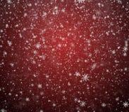Copos de nieve que caen Foto de archivo