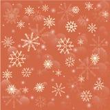Copos de nieve que caen Foto de archivo libre de regalías