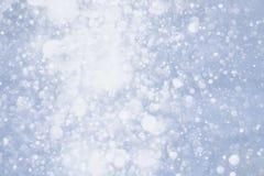 Copos de nieve que caen Imagen de archivo libre de regalías