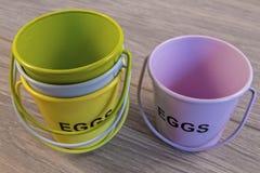 Copos de ovo Imagem de Stock
