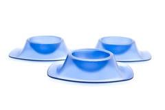 Copos de ovo azuis Foto de Stock