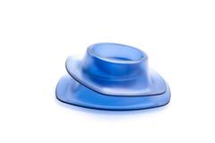 Copos de ovo azuis Imagem de Stock Royalty Free