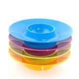 Copos de ovo coloridos Imagem de Stock Royalty Free