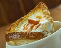 Copos de ovo do café da manhã Foto de Stock