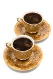 Copos do café Fotos de Stock