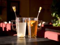2 copos do chá Foto de Stock