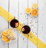 copos do chá Foto de Stock