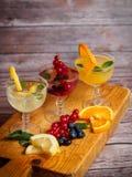 Copos do cocktail Imagem de Stock