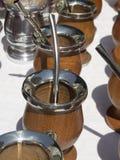 Copos do resíduo metálico do cabaceiro Imagem de Stock