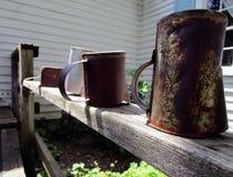 Copos oxidados Imagem de Stock