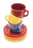 Copos para o chá foto de stock royalty free