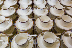 Copos para o chá e o café Fotografia de Stock Royalty Free