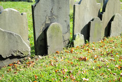 Copp's Hill Burying Ground Royalty Free Stock Image
