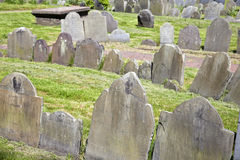 Copp's Hill Burying Ground Royalty Free Stock Photos