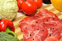 Coppa,意大利猪肉火腿 库存图片