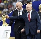 Coppa del Mondo 2018 immagine stock