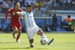 Coppa del Mondo 2014 Fotografia Stock Libera da Diritti