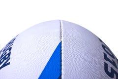 Coppa del Mondo della palla di rugby per 2015 verticalmente primi piani Immagini Stock Libere da Diritti