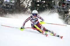Coppa del Mondo di Audi FIS - slalom delle signore Fotografia Stock