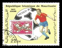 Coppa del Mondo 1986 di calcio Fotografia Stock