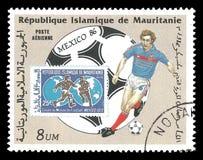 Coppa del Mondo 1986 di calcio Immagine Stock