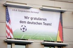 Coppa del Mondo di calcio Immagine Stock