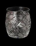 Coppa di vetro tagliato Immagine Stock