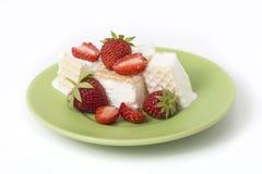 Coppa gelato del dessert Immagine Stock Libera da Diritti