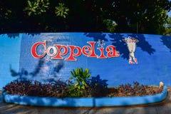Coppelia冰淇凌-哈瓦那,古巴 免版税库存照片