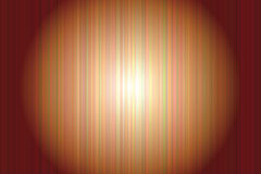 Copper abstract background. Copper vertically lined abstract background wit the light spot in the center Royalty Free Illustration