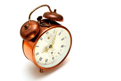 Copper alarm clock Royalty Free Stock Photography