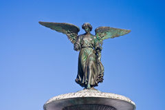Copper Angel Statue Royalty Free Stock Photos