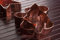 Copper baking Royalty Free Stock Images
