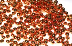 Copper Beads Stock Images