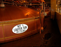 Copper Beer Tank, Brewery Royalty Free Stock Photos