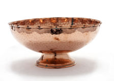 Copper bowl Stock Photos