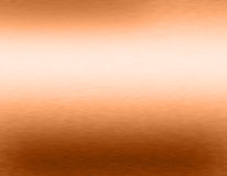 Copper bronze metal background Royalty Free Stock Images