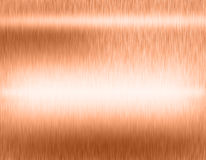 Copper bronze metal background Royalty Free Stock Image